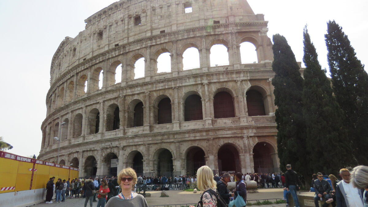 Seniorklubbens resa till Rom